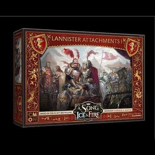 A Song of Ice and Fire Lannister Attachments 1