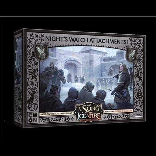 A Song of Ice and Fire Night's Watch Attachments 1