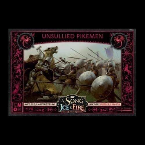 A Song of Ice and Fire Unsullied Pikemen