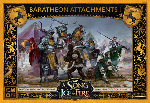 A Song of Ice and Fire Baratheon Attachments 1