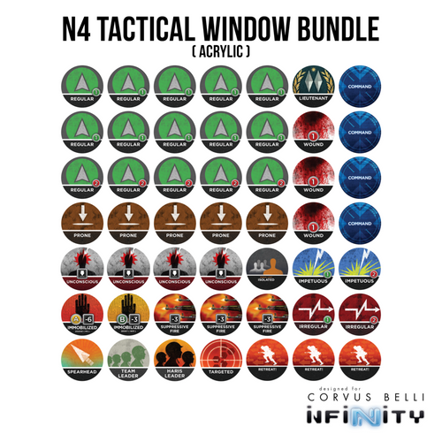 Warsenal - N4 Tactical Window Bundle - Acrylic