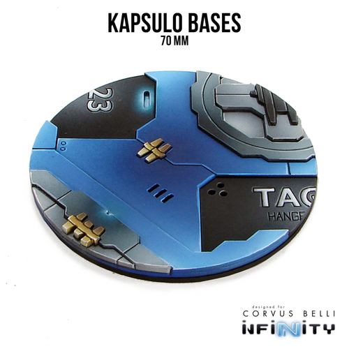 Warsenal - Kapsulo Precinct Bases - 70mm (1)