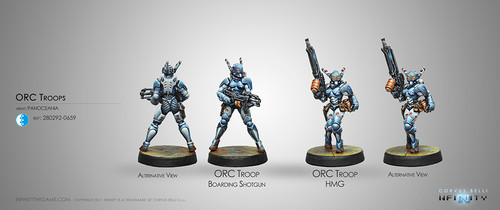 ORC TROOPS (HMG/BOARDING SHOTGUN)