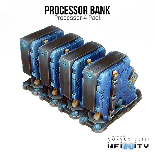 Warsenal - Kapsulo Processors - Processing Bank (4 Pack)