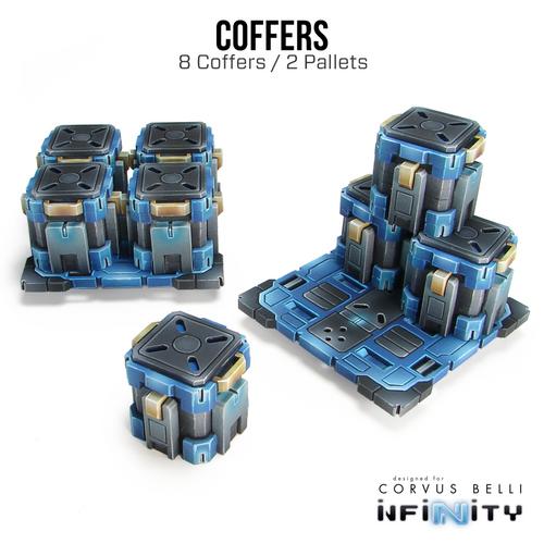 Warsenal -  Kapsulo Coffers - 8 Pack