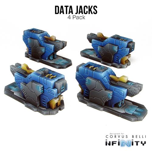 Warsenal - Kapsulo Data Jacks - 4 Pack