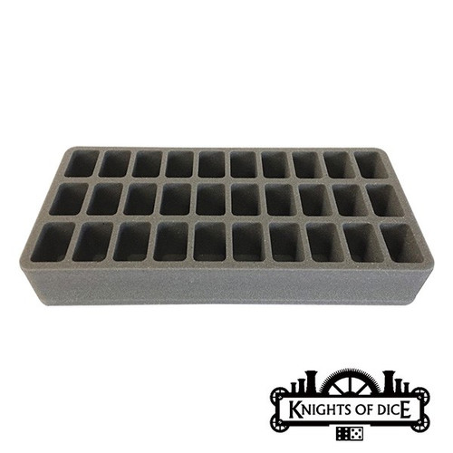 Knights of Dice: Strike-30 foam tray 35mm