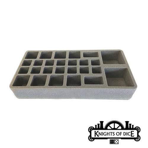 Knights of Dice: Strike-26 foam tray 25mm