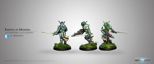 Knights of Montesa (Combi Rifle)
