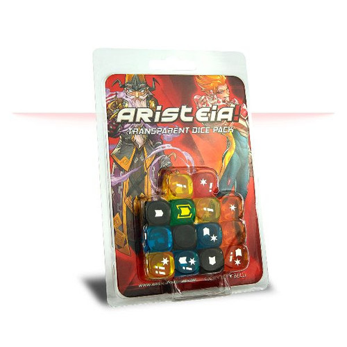 Aristeia! Transparent Dice Pack