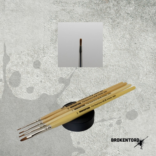 BrokenToad - Flat Head Series MK2 Brush - Size 0