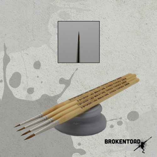 BrokenToad - Miniature Series MK3 Brush – Size 0