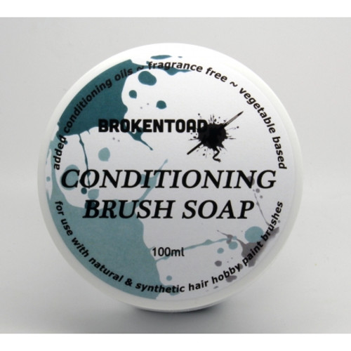 BrokenToad - Conditioning Brush Soap