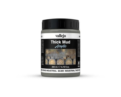 26.809 Vallejo - Vallejo Diorama Effects - Industrial Thick Mud 200ml