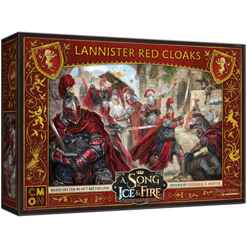A Song of Ice and Fire Lannister Red Cloaks