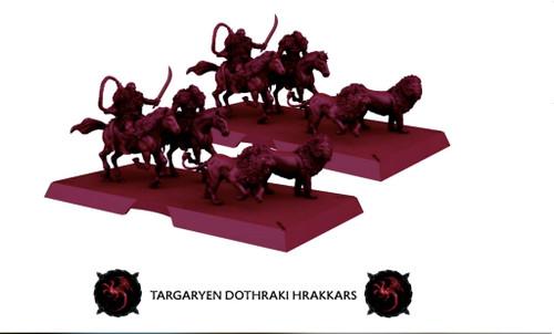 A Song of Ice and Fire - Dothraki Hrakkars