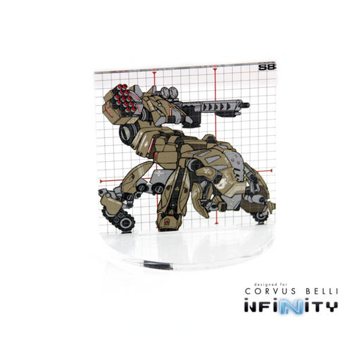 WARSENAL INFINITY FULL COLOUR SILHOUETTE TEMPLATE SIZE 8