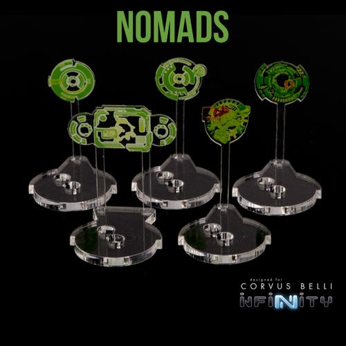 Warsenal - Hacking Holos 25mm - Nomads