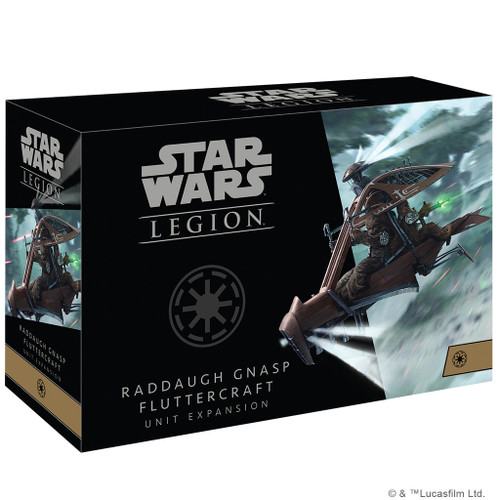 Star Wars Legion Raddaugh Gnasp Fluttercraft Expansion