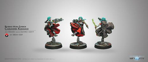 Cassandra Kusanagi (MULTI Rifle + Light Flamethrower
