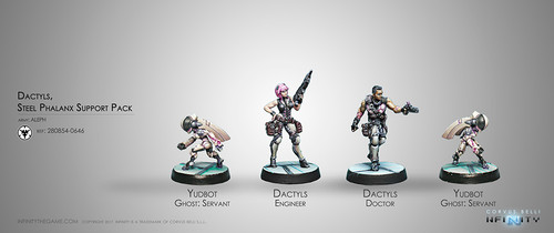 DACTYLS - STEEL PHALANX SUPPORT PACK