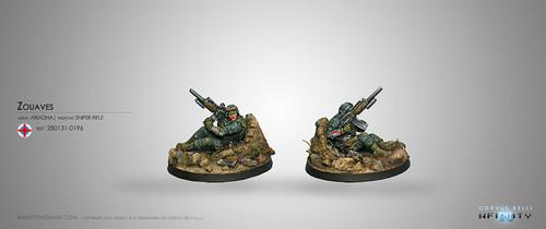 Zouaves (Sapper - Sniper)