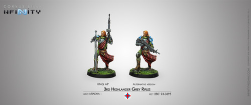 3rd Highlander Grey Rifles (HMG)