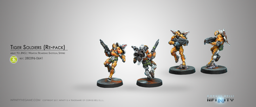 TIGER SOLDIERS (SPITFRE / BOARDING SHOTGUN)