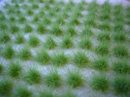 LeadBear Tufts  - Light Green 6mm
