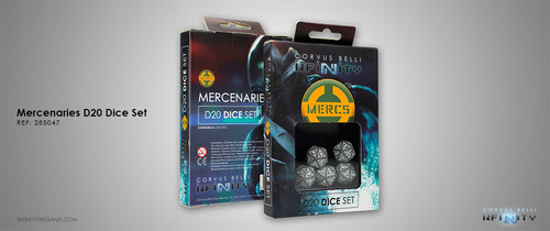 Mercenaries D20 Dice Set