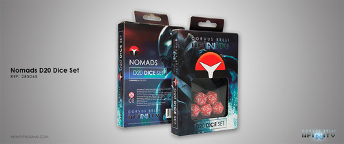 Nomads D20 Dice Set