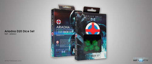 Ariadna D20 Dice Set