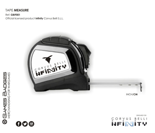 INFINITY PACK (Laser pointer, tape measure & case)