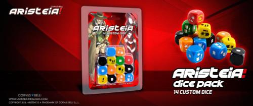 Aristeia! Dice Pack (complete dice set)