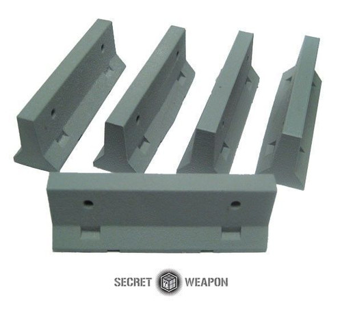 Secret Weapon: TERRAIN: JERSEY BARRIERS - SET OF 5