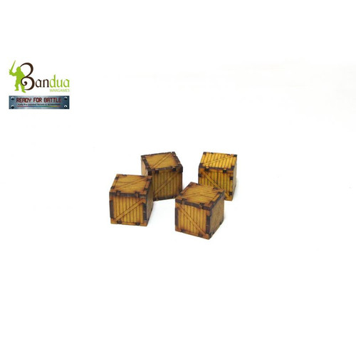 Bandua - 4 Crates Set