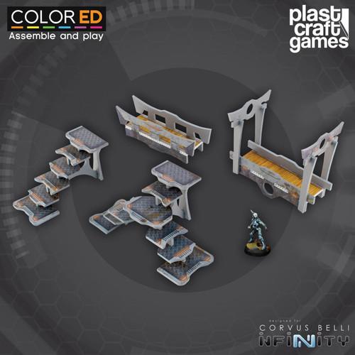 Plast Craft ColorED Bridge and Stairway Set