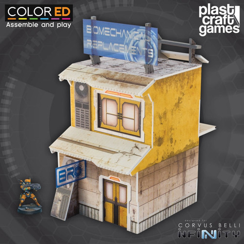 Plast Craft ColorED Yellow Building