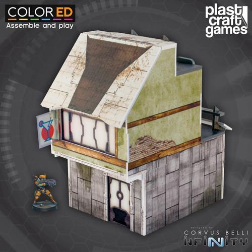 Plast Craft ColorED Suburb Building