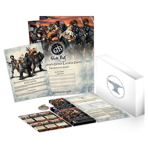 Guild Ball The Blacksmiths Guild Launch Party Pack