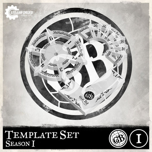 Guild Ball Guild Ball Template Set