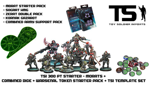 TSI 300pt Starter - Morat Aggression Force with Infinity Essentials