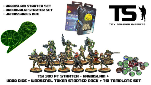 TSI 300pt Starter - Haqqislam with Infinity Essentials