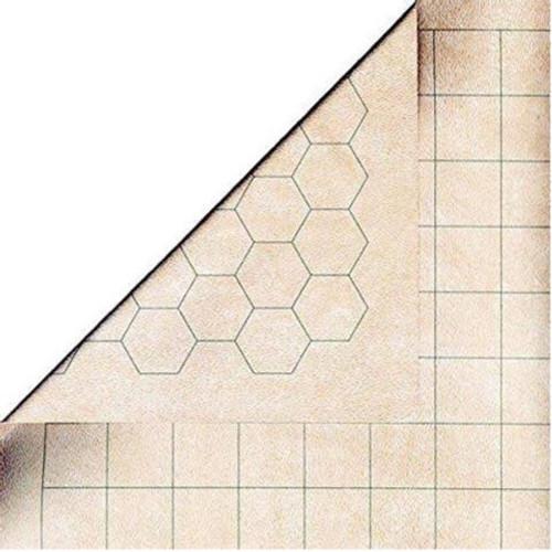 "Chessex Reversible Megamat™ 1'' Squares & 1'' Hexes (34.5'' x 48"")"