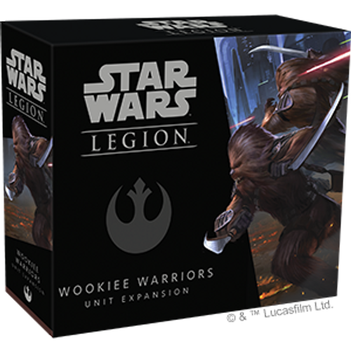 (PREORDER) Star Wars Legion Wookie Warriors (OCT)
