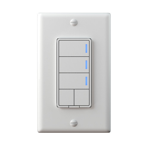 Red Series Smart 5-Button Switch