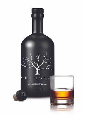 Ghostwood Blended Bourbon Whiskey 750ml