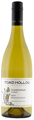 Toad Hollow Unoaked Chardonnay