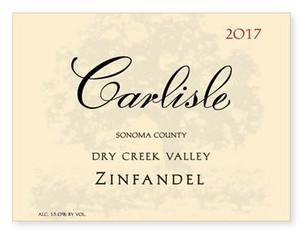 Carlisle Dry Creek Valley Zinfandel 2017