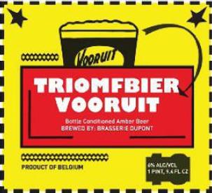 Dupont Triomfbier Vooruit 750ml